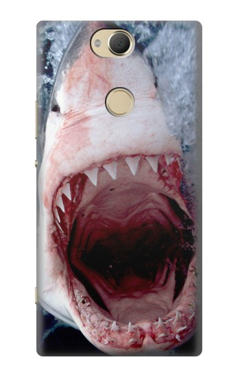 Printed Jaws Shark Mouth Sony Xperia XA2 Plus Case