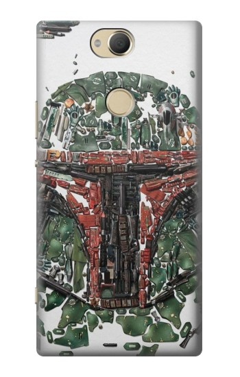 Printed Star War Soldier Sony Xperia XA2 Plus Case