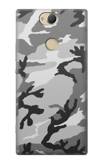 Printed Snow Camo Camouflage Graphic Printed Sony Xperia XA2 Plus Case
