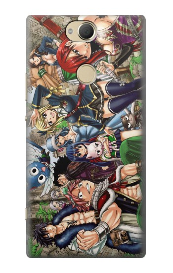 Printed Fairy Tail Guild Members Sony Xperia XA2 Plus Case