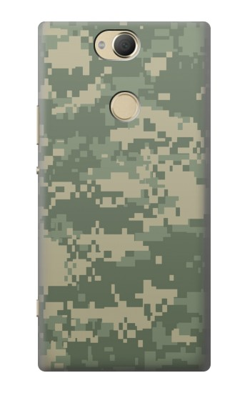 Printed Digital Camo Camouflage Graphic Printed Sony Xperia XA2 Plus Case