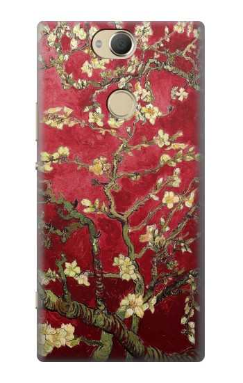 Printed Red Blossoming Almond Tree Van Gogh Sony Xperia XA2 Plus Case
