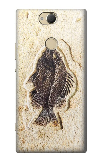 Printed Fossil Fish Sony Xperia XA2 Plus Case