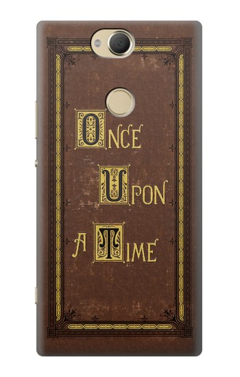Printed Once Upon a Time Book Cover Sony Xperia XA2 Plus Case