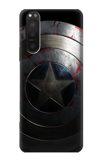 Printed Captain Shield Sony Xperia 5 II Case