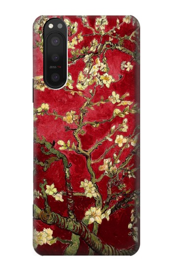 Printed Red Blossoming Almond Tree Van Gogh Sony Xperia 5 II Case