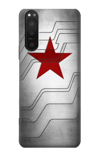 Printed Winter Soldier Bucky Arm Texture Sony Xperia 5 II Case