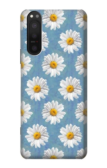 Printed Floral Daisy Sony Xperia 5 II Case