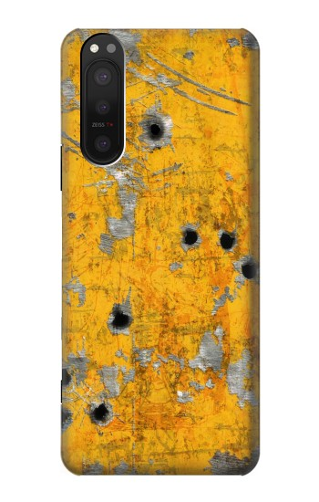Printed Bullet Rusting Yellow Metal Sony Xperia 5 II Case