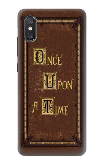 Printed Once Upon a Time Book Cover Xiaomi Mi 8 Pro, Mi 8 Explorer Case