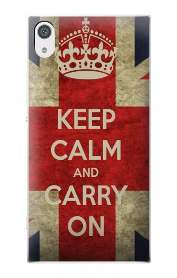 Printed Keep Calm and Carry On alcatel Pop 2 (5) Case