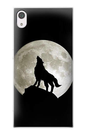 Printed Wolf Howling at The Moon alcatel Pop 2 (5) Case