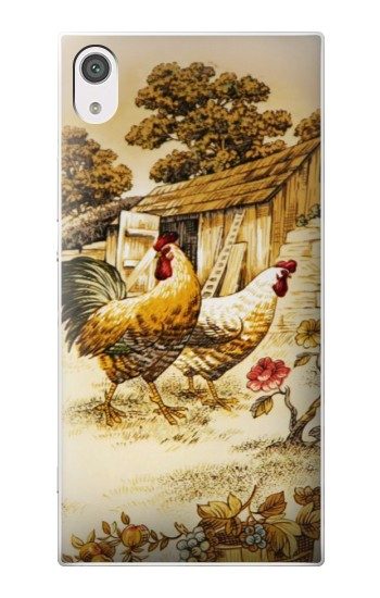 Printed French Country Chicken alcatel Pop 2 (5) Case