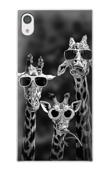 Printed Giraffes With Sunglasses alcatel Pop 2 (5) Case
