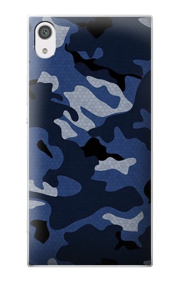 Printed Navy Blue Camouflage alcatel Pop 2 (5) Case