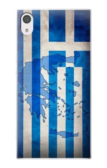 Printed Greece Map Flag alcatel Pop 2 (5) Case