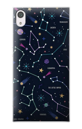 Printed Star Map Zodiac Constellations alcatel Pop 2 (5) Case
