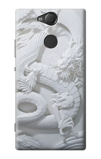 Printed Dragon Carving Sony Xperia XA2 Case