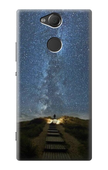 Printed Stairway to Heaven Iceland Sony Xperia XA2 Case
