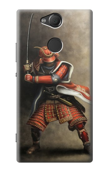 Printed Japan Red Samurai Sony Xperia XA2 Case