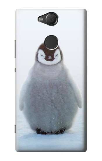 Printed Penguin Ice Sony Xperia XA2 Case