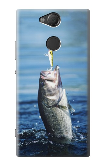Printed Bass Fishing Sony Xperia XA2 Case