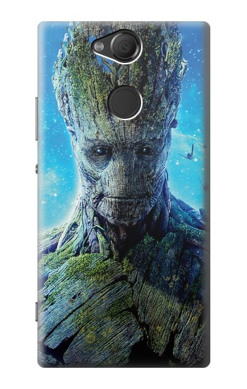 Printed Groot Guardians of the Galaxy Sony Xperia XA2 Case