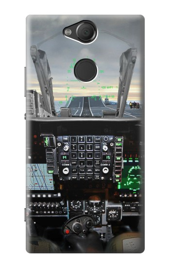 Printed Fighter Jet Aircraft Cockpit Sony Xperia XA2 Case