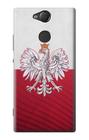 Printed Poland Football Flag Sony Xperia XA2 Case