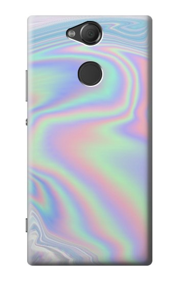 Printed Pastel Holographic Photo Printed Sony Xperia XA2 Case