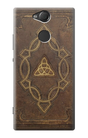 Printed Spell Book Cover Sony Xperia XA2 Case