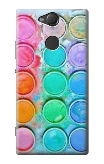 Printed Watercolor Mixing Sony Xperia XA2 Case