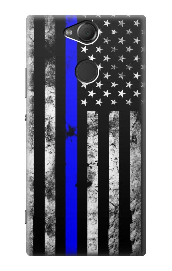 Printed Thin Blue Line USA Sony Xperia XA2 Case