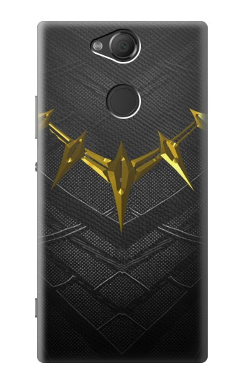 Printed Black Panther Inspired Costume Gold Necklace Sony Xperia XA2 Case