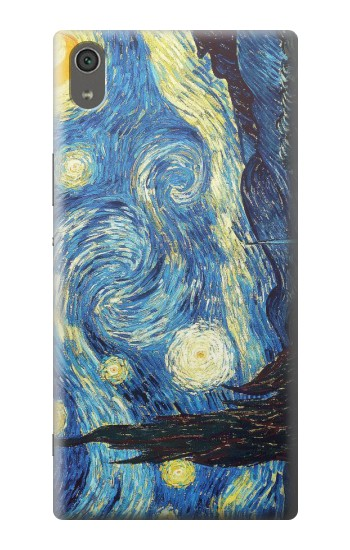 Printed Van Gogh Starry Nights Sony Xperia XA Ultra Case