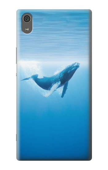 Printed Blue Whale Sony Xperia XA Ultra Case