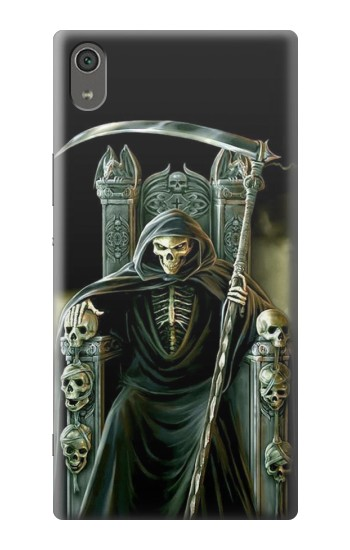 Printed Grim Reaper Skeleton King Sony Xperia XA Ultra Case