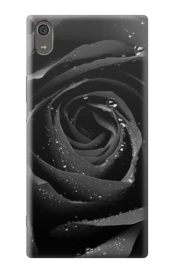 Printed Black Rose Sony Xperia XA Ultra Case