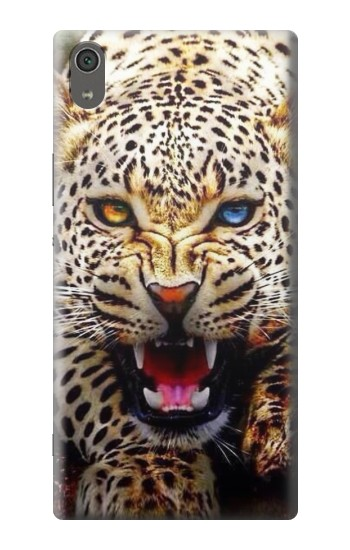 Printed Blue Eyed Leopard Sony Xperia XA Ultra Case