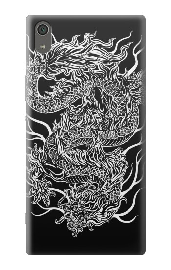 Printed Dragon Tattoo Sony Xperia XA Ultra Case
