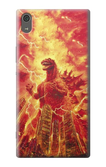 Printed Godzilla The Legend Is Reborn Sony Xperia XA Ultra Case