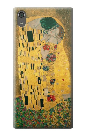 Printed Gustav Klimt The Kiss Sony Xperia XA Ultra Case