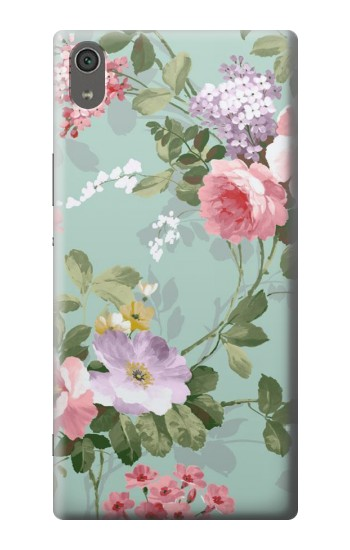 Printed Flower Floral Art Painting Sony Xperia XA Ultra Case