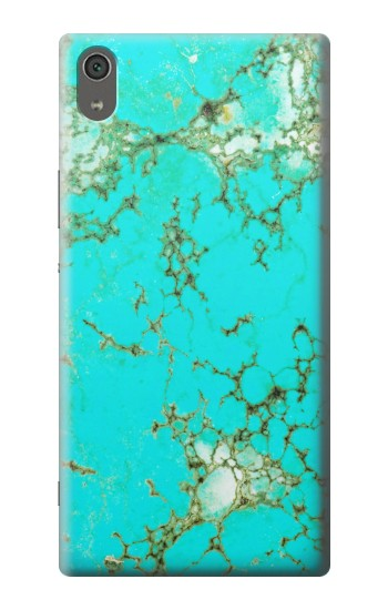 Printed Turquoise Gemstone Texture Graphic Printed Sony Xperia XA Ultra Case