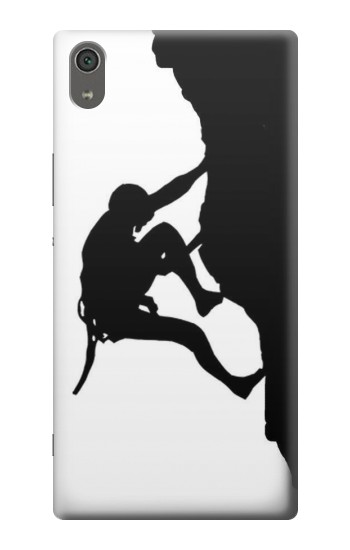 Printed Mountain Climber Climbing Sony Xperia XA Ultra Case