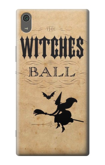 Printed Vintage Halloween The Witches Ball Sony Xperia XA Ultra Case