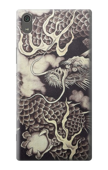 Printed Japan Painting Dragon Sony Xperia XA Ultra Case