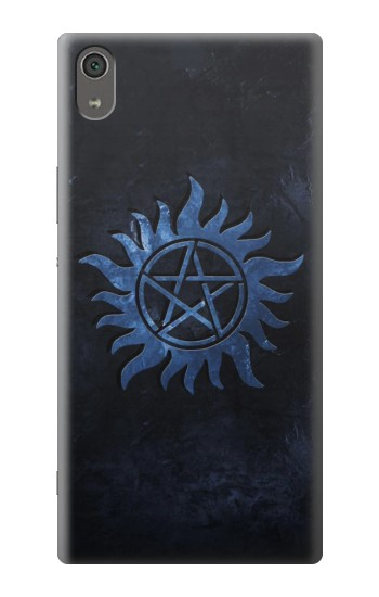 Printed Supernatural Anti Possession Symbol Sony Xperia XA Ultra Case