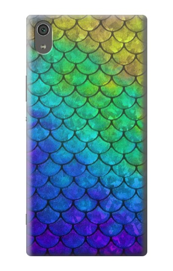 Printed Mermaid Fish Scale Sony Xperia XA Ultra Case