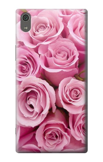 Printed Pink Rose Sony Xperia XA Ultra Case